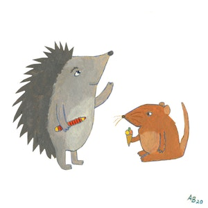Hedgehog and Mouse