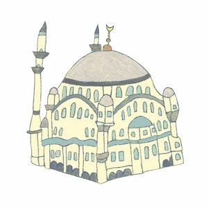 """Moschee from """"So feiert die Welt!"""" (Circon Verlag)"""