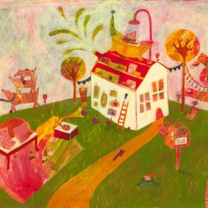 "Neighborhood from ""Herumverkehrt"" (Jaja Verlag)"