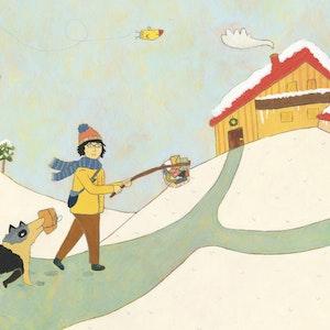 """Illustration from """"Postbote Willi, Pirat und der geheimnisvolle Weihnachtsbrief"""" (Don Bosco Verlag)"""