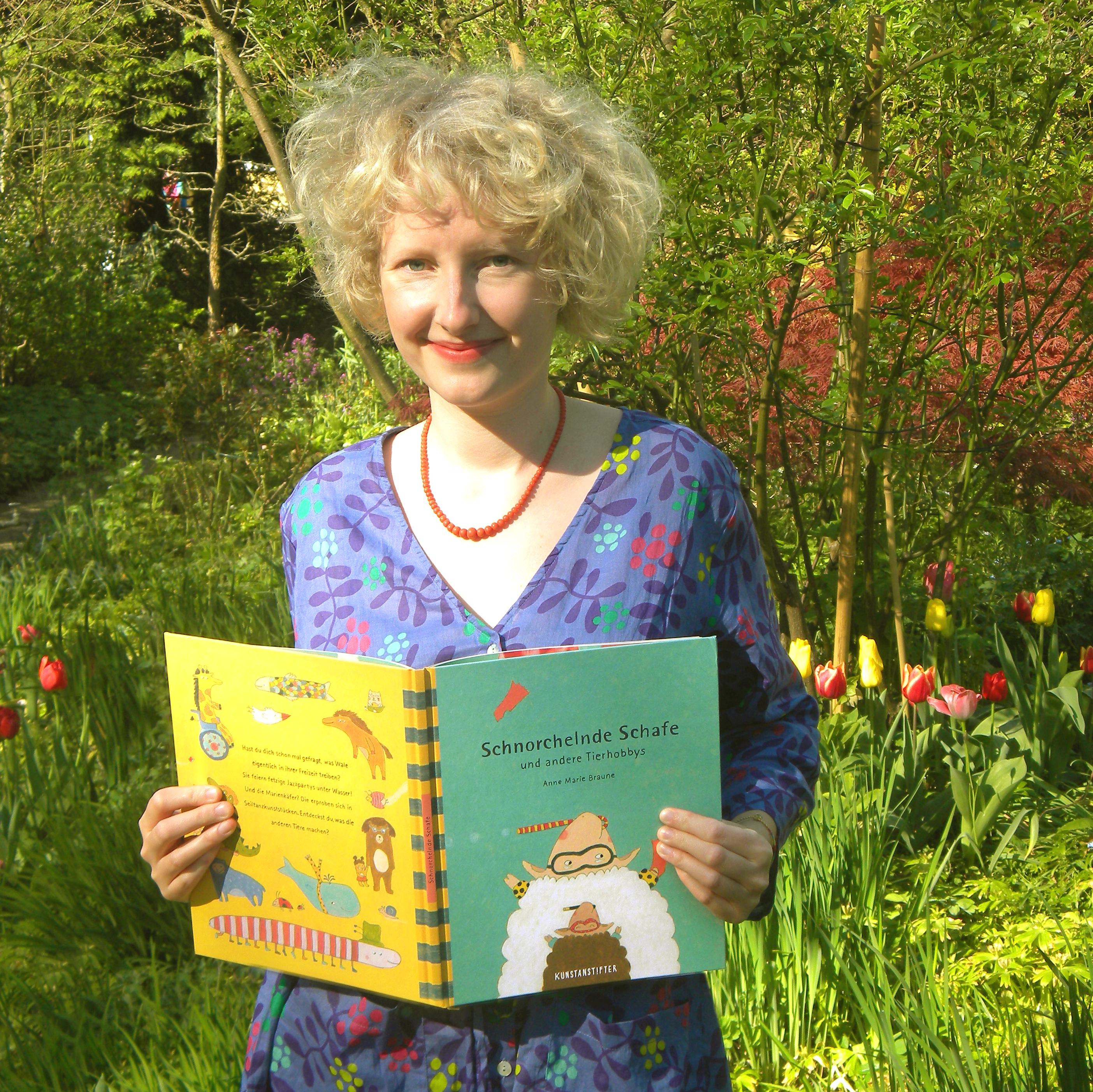 Die Illustratorin Anne Marie Braune